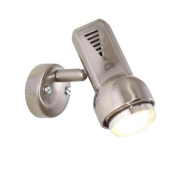 EUROLUX S74SC Delta Spot Light, 1 x E14, R50, 40W, Satin Chrome