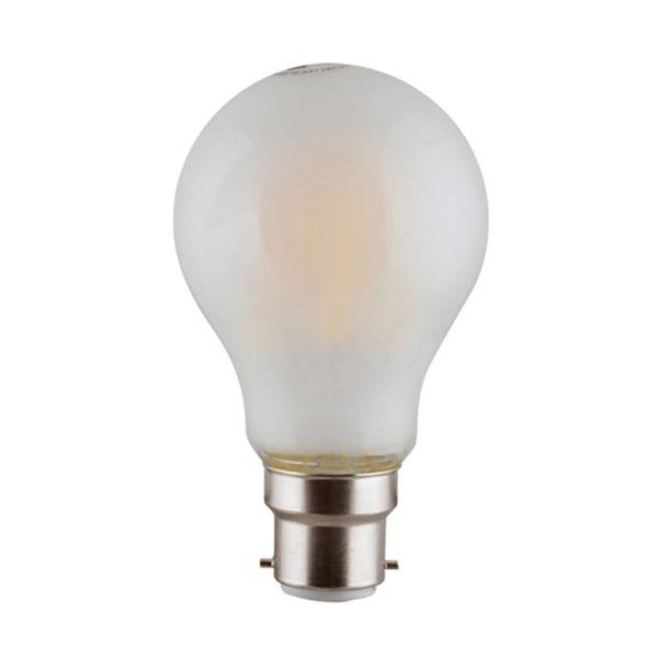 EUROLUX Soft Hue LED Filament Globe, B22, 6W, Warm White