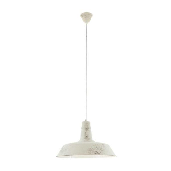 EUROLUX Somerton P699W Pendant, 1 Light, White
