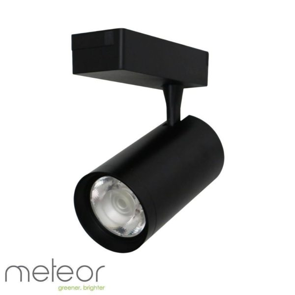 LED 2nd Generation Track Light, 30W, 2-Wire Black, 4000K Natural White