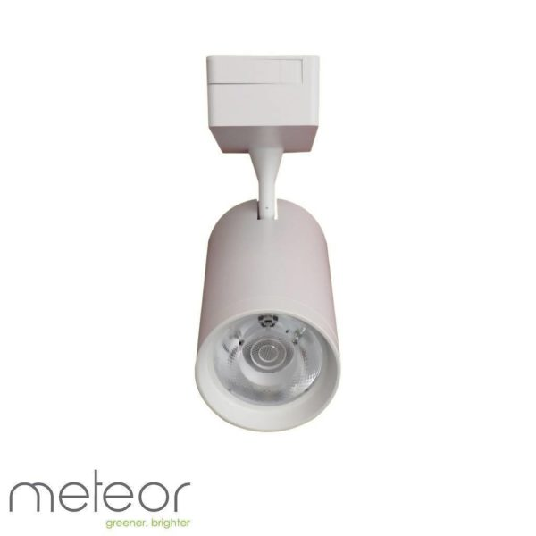 LED 2nd Generation Track Light, 30W, 2-Wire White, 4000K Natural White