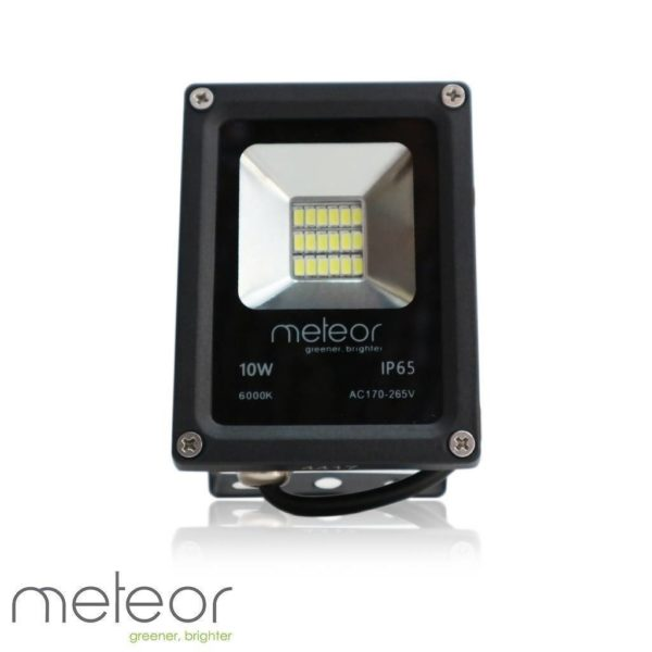 LED Slim-line Floodlight AC230V, 10W, 6000K Daylight