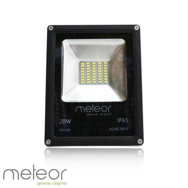 LED Slim-line Floodlight AC230V, 20W, 6000K Daylight