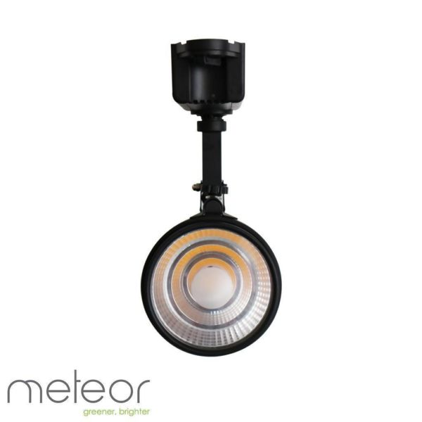 LED Track Light Black 2-Wire, 30W, 2800K Warm White