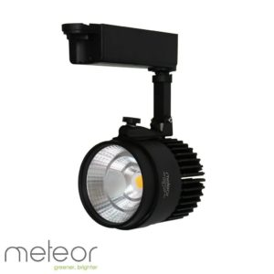 LED Track Light Black 2-Wire, 30W, 6000K Daylight