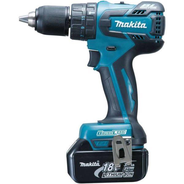 MAKITA Cordless Brushless Impact Driver Drill DHP459Z, 18V