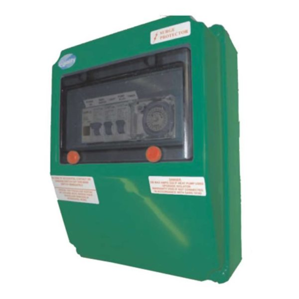 QUALITY Electrical Pool DB Box, LED Specific, 2.6V, Green