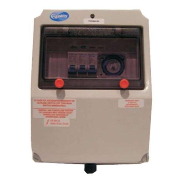 QUALITY Electrical Waterproof Pool DB Box, 125W, Grey