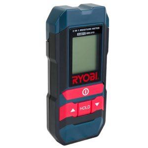 RYOBI 2 In 1 Moisture Meter, MM-210, 2 x 1.5V AAA