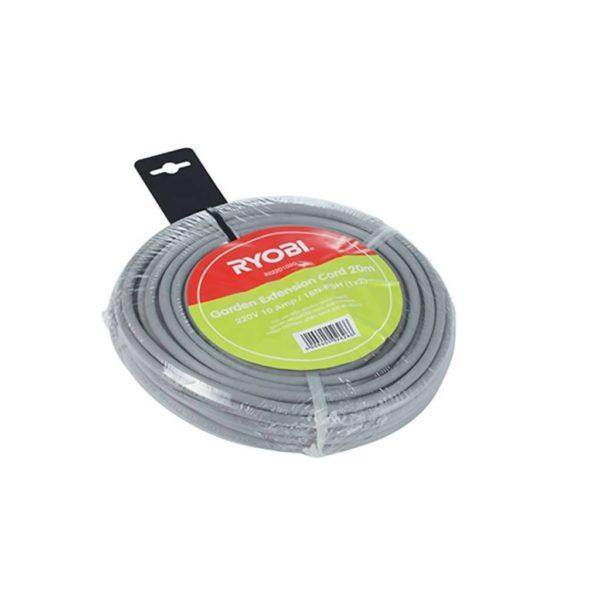 RYOBI 20m Extension Cord, 220V, 10AMP