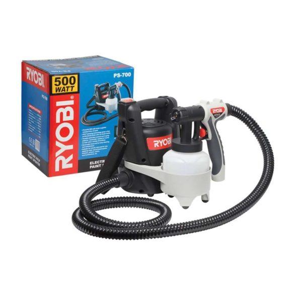 RYOBI Corded Spray Gun HVLP, PS-700, 700ml, 500W