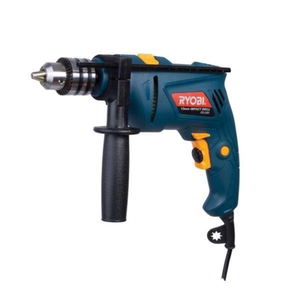 RYOBI Impact Drill, PD-550, 13mm, VAR / REV, 550W