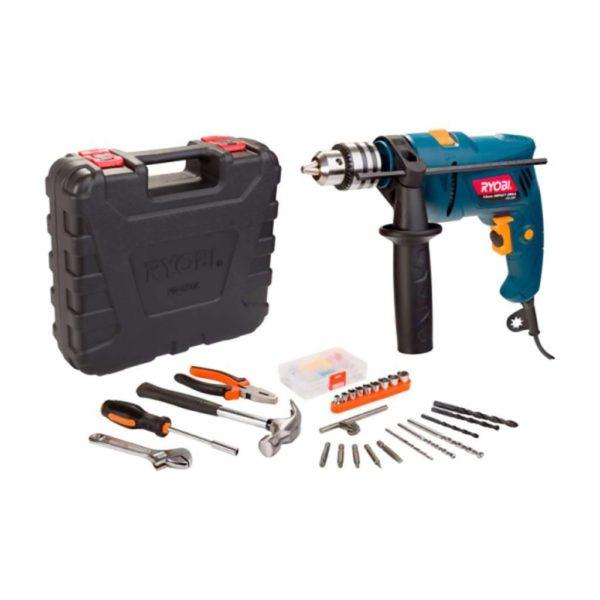RYOBI Impact Drill Power Kit, PD-550K, 13mm, 550W