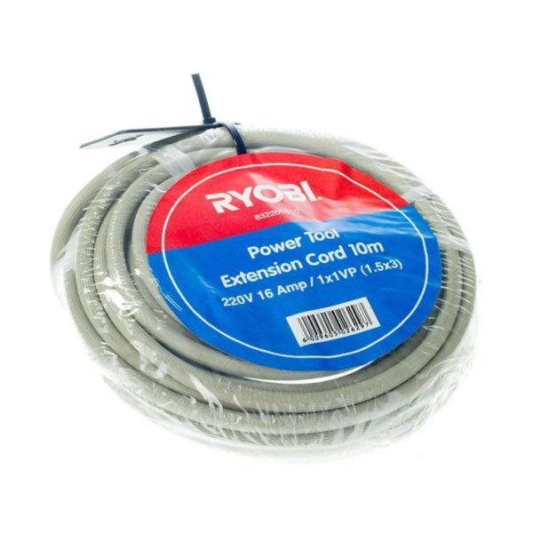 RYOBI Power Tool Extension Cord, 832201610, 220V, 10m