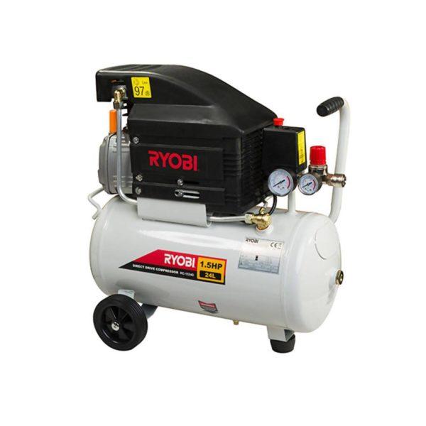 RYOBI RC-1524D Direct Drive Compressor, 24L, 1.5HP (1.1kW)