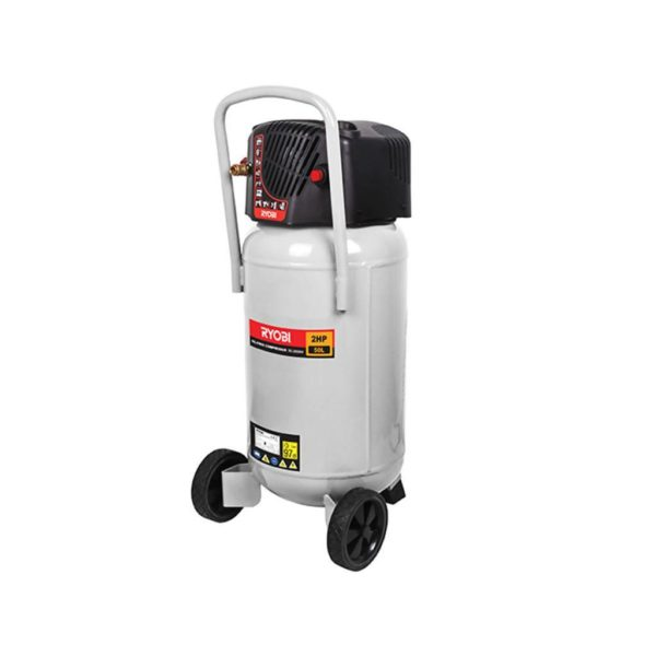 RYOBI RC-2050NV Air Compressor, Oil Free, Vertical Mount, 50L (1.5W)