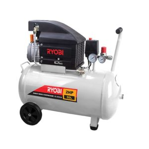 RYOBI RC-2055DK Direct Drive Compressor,50L with 5 Piece Kit (1.5kW)