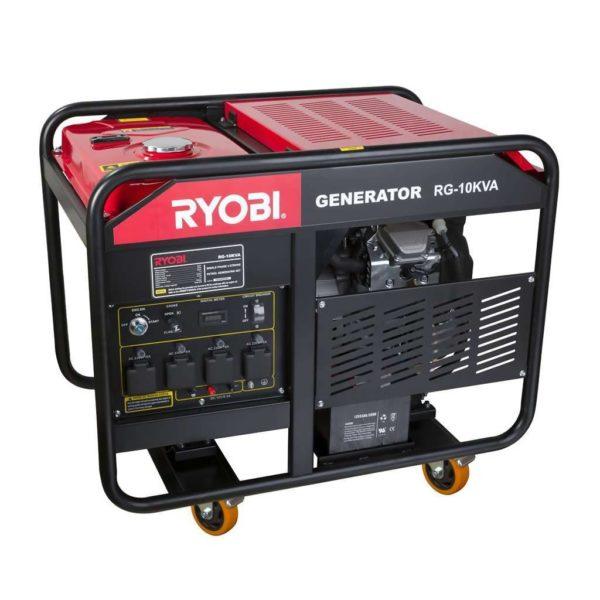 RYOBI RG-10KVA 4-Stroke Generator, 10kW