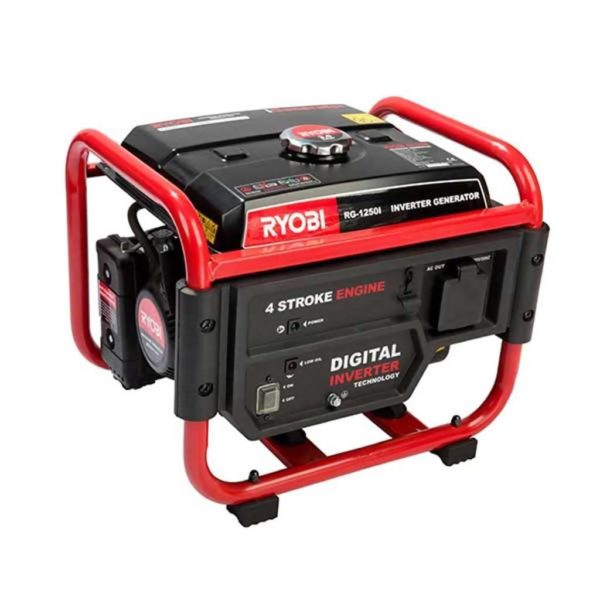 RYOBI RG-1250i Open Frame Inverter Generator, 1000W