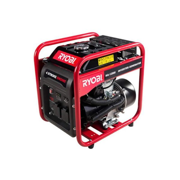 RYOBI RG-1280i Open Frame Inverter Generator, 1200W