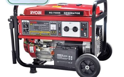 ryobi rg 7900k 4 stroke generator with key start 7500w generators 400x250 - Home