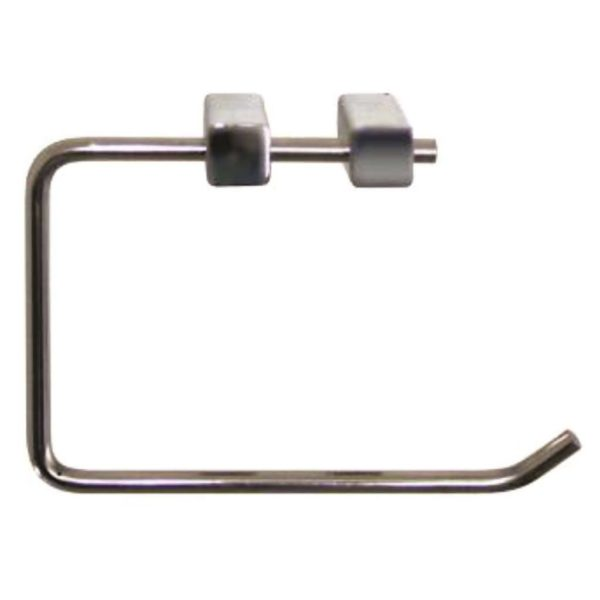 Shelca Pearl Square Towel Ring, Stainless Steel