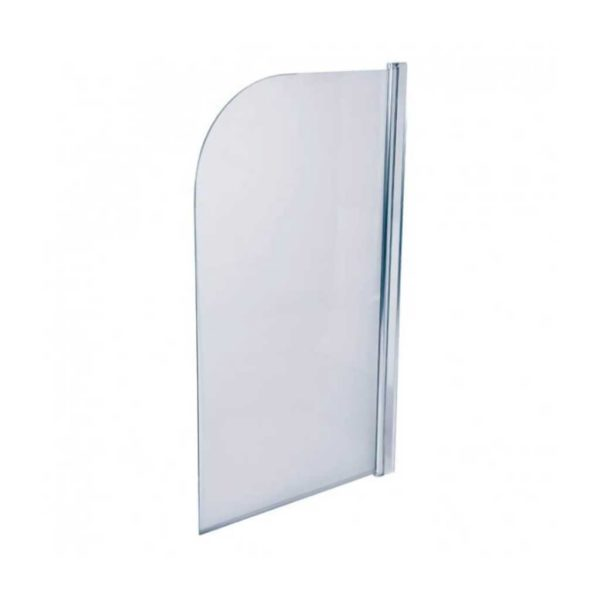 Shower Door Bath Screen, Chrome, 800 x 1400mm