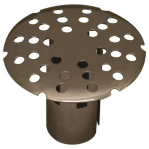 Slip-In Shower Grid Top, Chrome Plated Top, Boxed