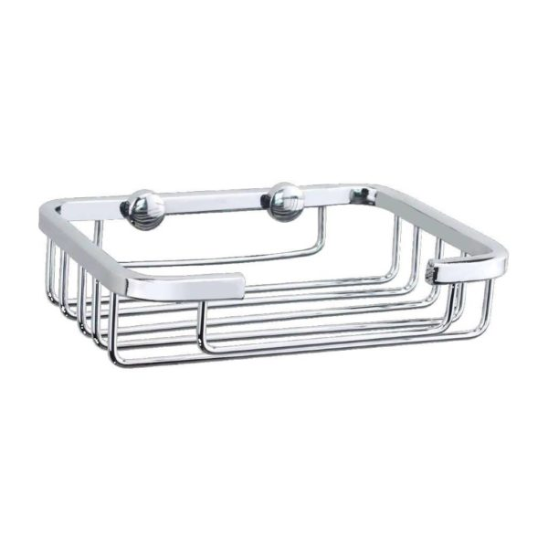 Solar Soap Basket, 118mm x 85mm x 32mm, 201 Stainless Steel