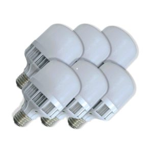 SuperBright Birdcage 10W LED Light Bulb (Equiv 100W), E27 Screw, Cool White, Pack Of 6