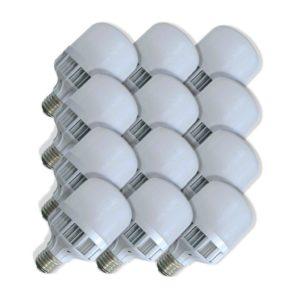 SuperBright Birdcage 5W LED Light Bulb (Equiv 45W), E27 Screw, Cool White, Pack Of 12