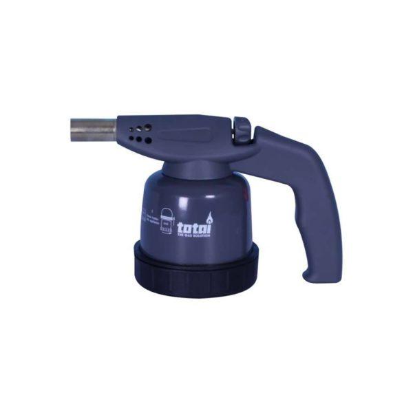 TOTAI Cartridge Gas Blow Torch, Metal, Blue