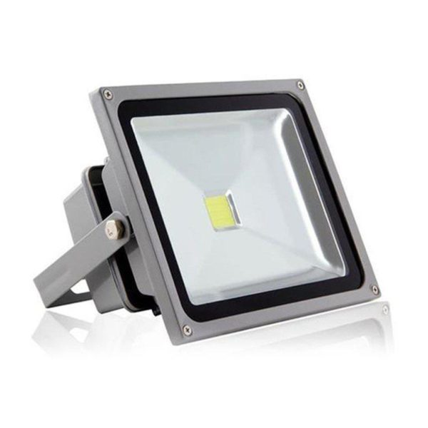 Waterproof IP65 LED Flood Light (Equiv 350W), Cool White, 50W