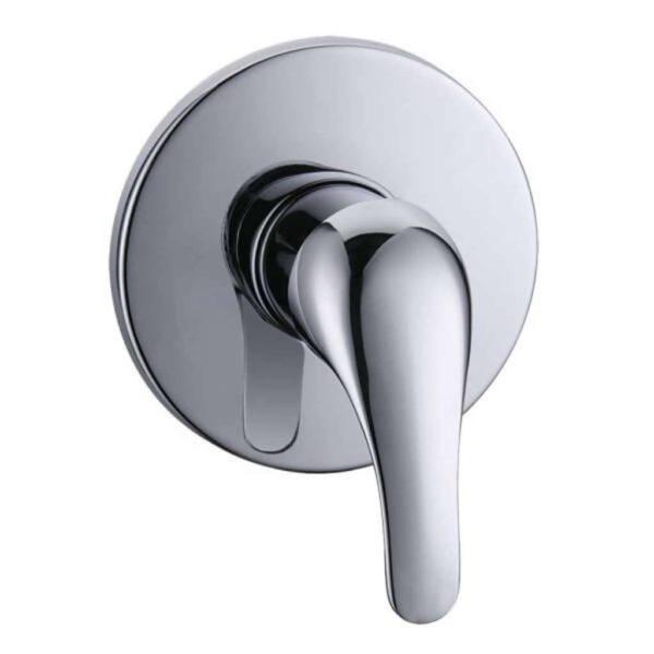 Amber Bath or Shower Undertile Mixer Faucet, Chrome Plated DZR Brass