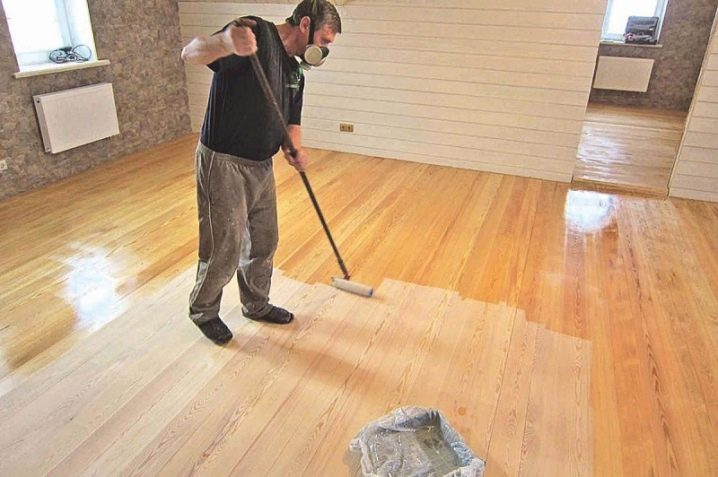 applying varnish to wooden floors - How To Sand A Wooden Floor: DIY Guide
