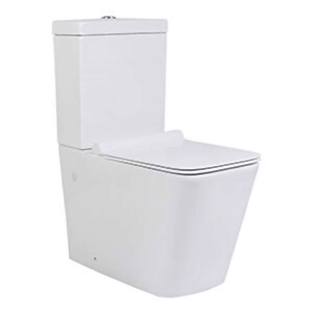 BIJIOU Le Rubis Toilet Suite with Dual Flush & Soft Close Seat, Vitreous China