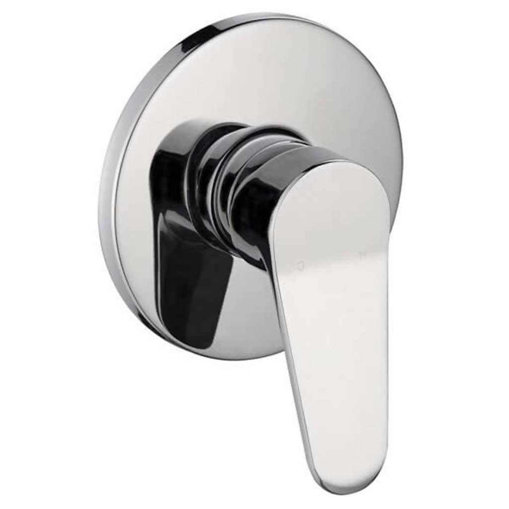 Crystal Undertile Bath or Shower Mixer, Chrome Plated DZR Brass