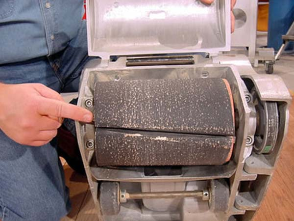 drum sanding machine - How To Sand A Wooden Floor: DIY Guide