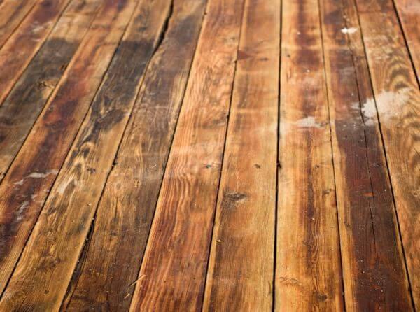 hardwood floor damage - How To Sand A Wooden Floor: DIY Guide