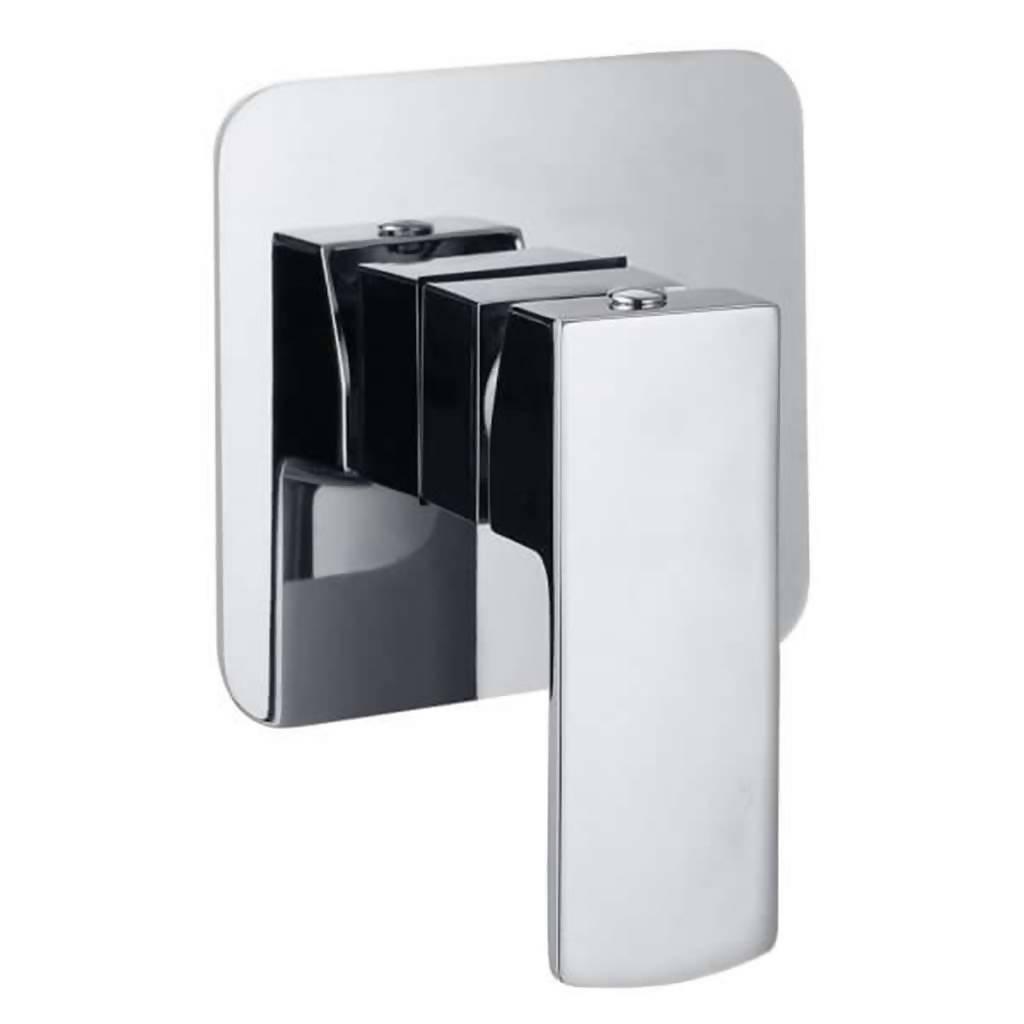 Jasper Undertile Bath or Shower Mixer, Chrome Plated DZR Brass
