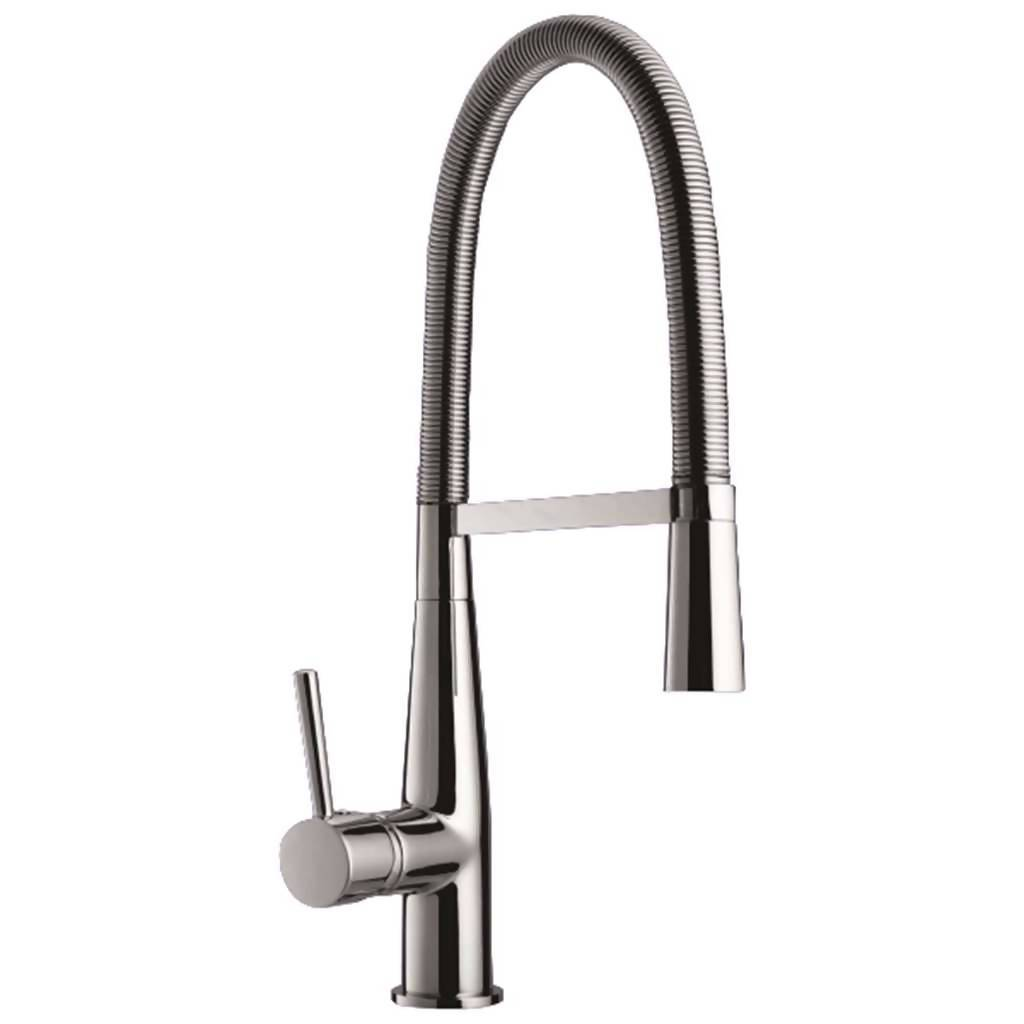 Ronague Spring P 15 Kitchen Sink Mixer, Stainless Steel