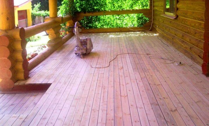 sanding a wooden flooring - How To Sand A Wooden Floor: DIY Guide