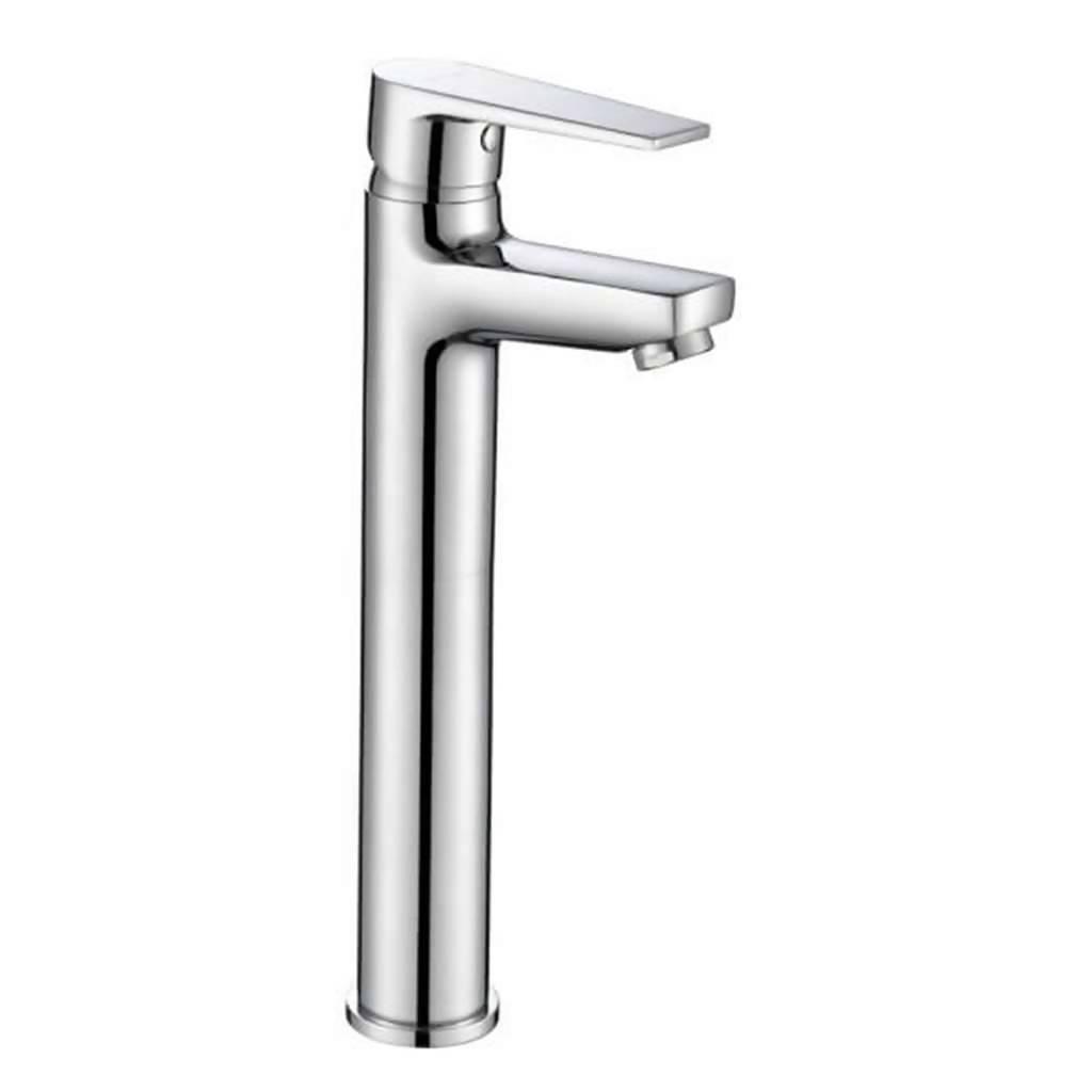 Sapphire Basin Mixer, Long Body, Chrome Plated DZR Brass