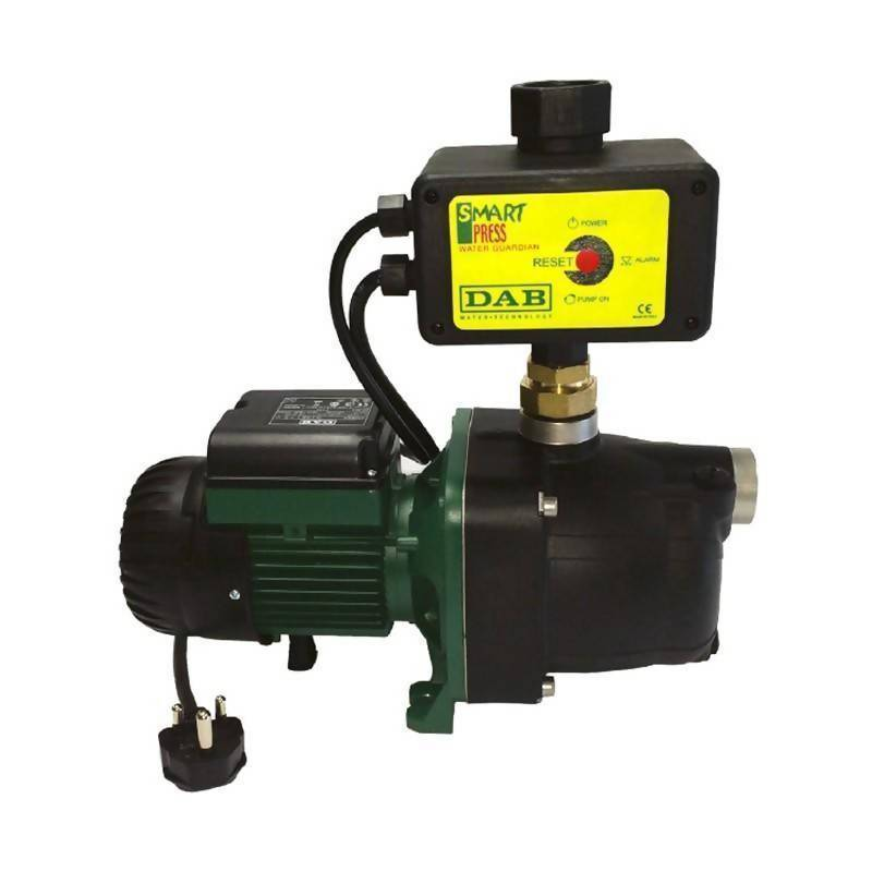 DAB JETSMART 82M Composite Pressure Boosting Pump With Pressure Control Switch (0.6kW, 0.8hp, 220V)