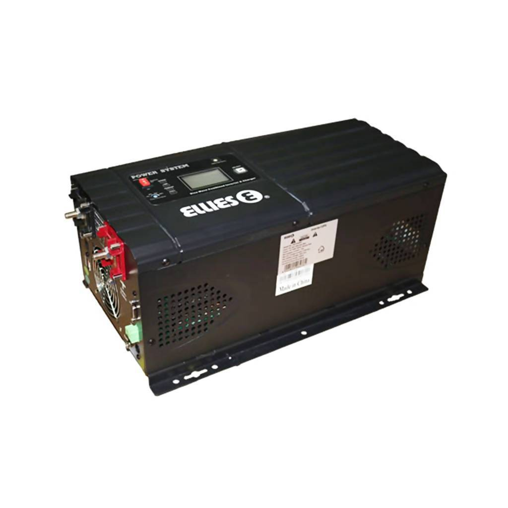 ELLIES FBI2000MP Low-Frequency Pure Sinewave Inverter & Charger, 2000W, 24VDC - 230VAC, 50/60Hz
