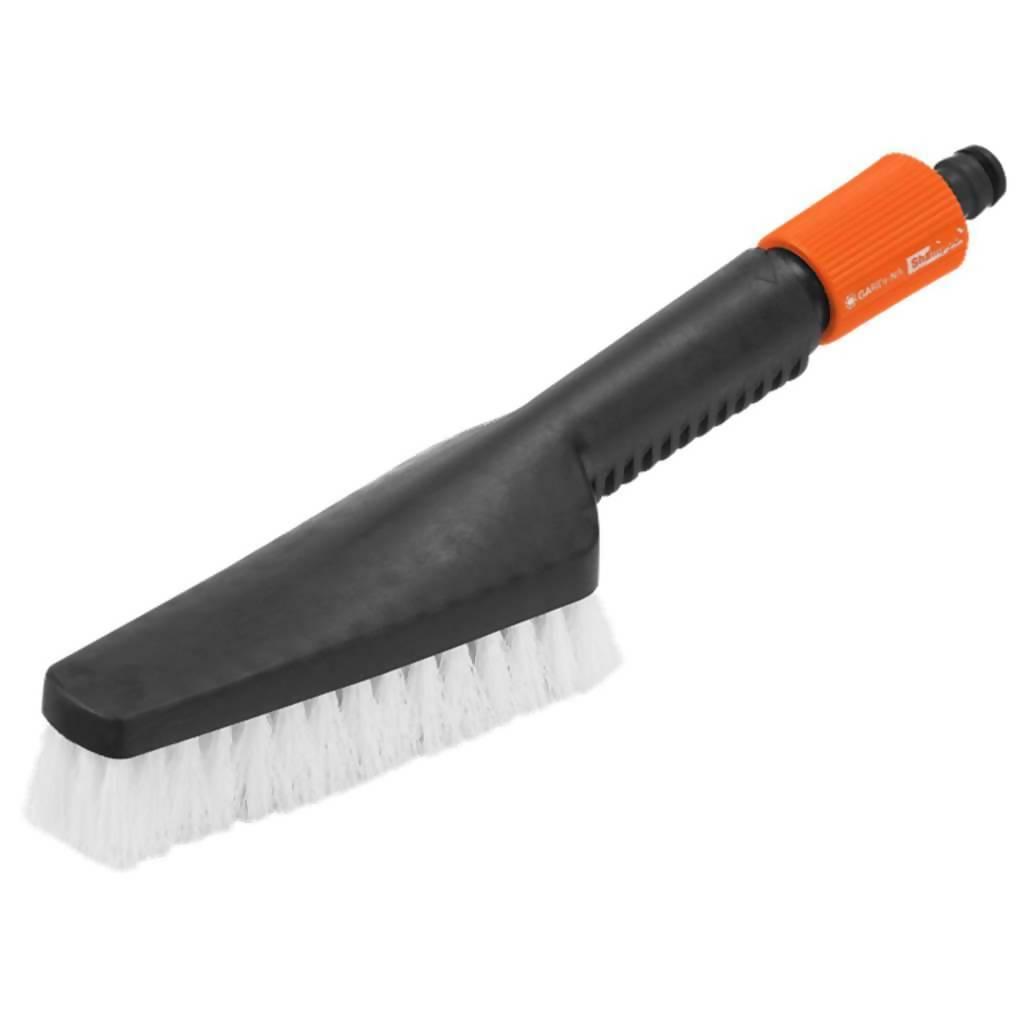 GARDENA Hand-Held Scrubbing Brush, PP Bristles