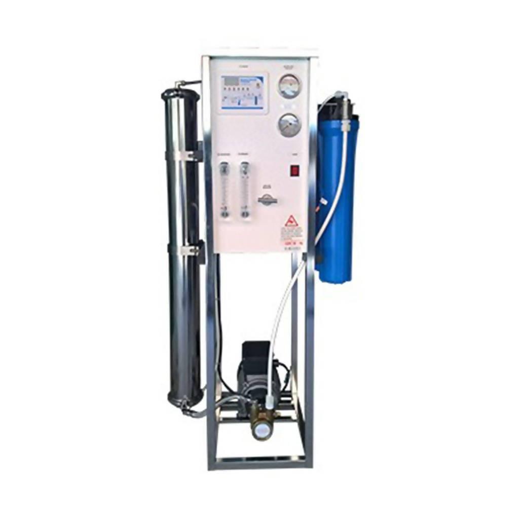 Reverse Osmosis System 2000 GPD   Italian Rotary Vane Pump & Motor   1 x 4040