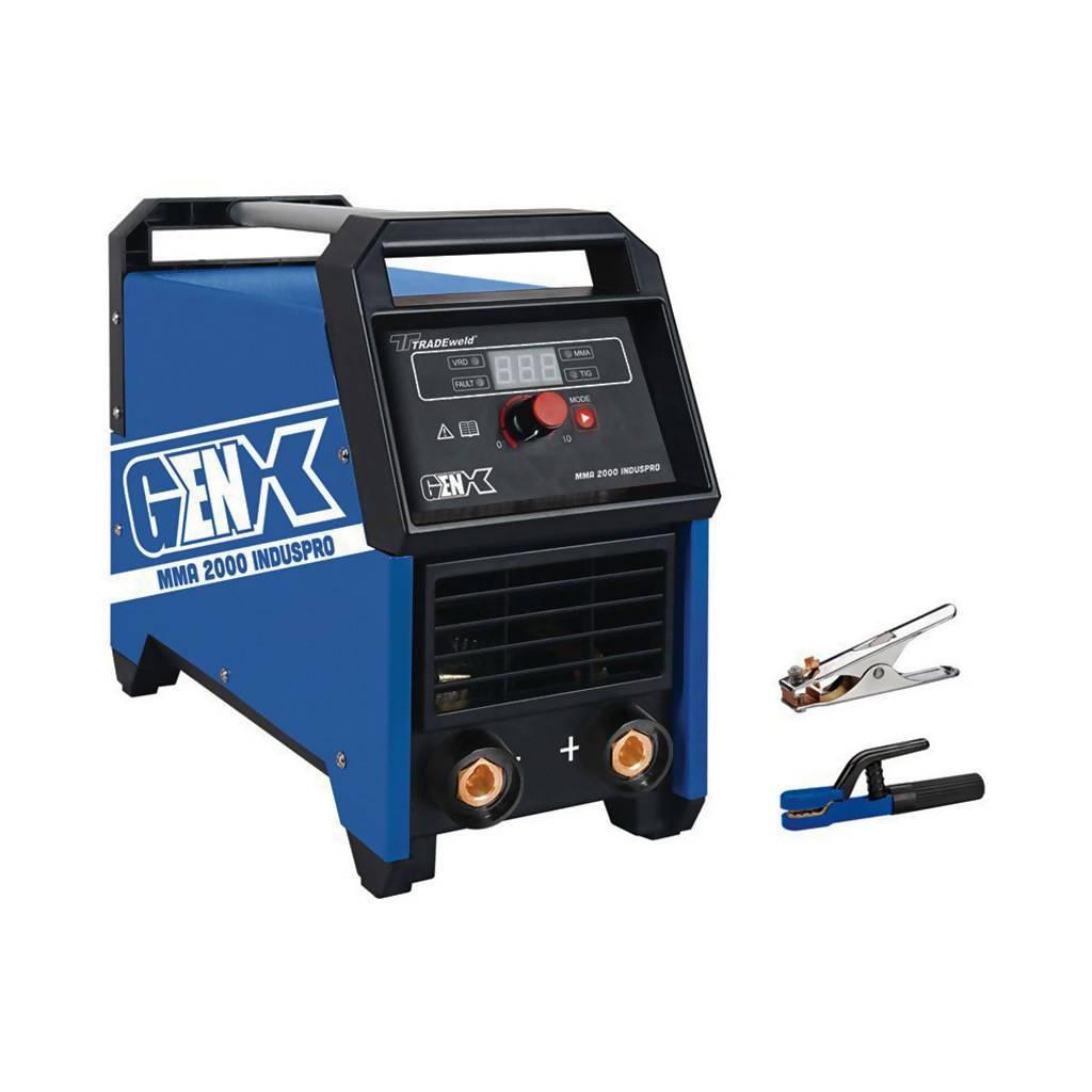 TRADEWELD MCOW4060 GenX MMA 2000 INDUSPRO Inverter Arc Welder, 200A, 220V