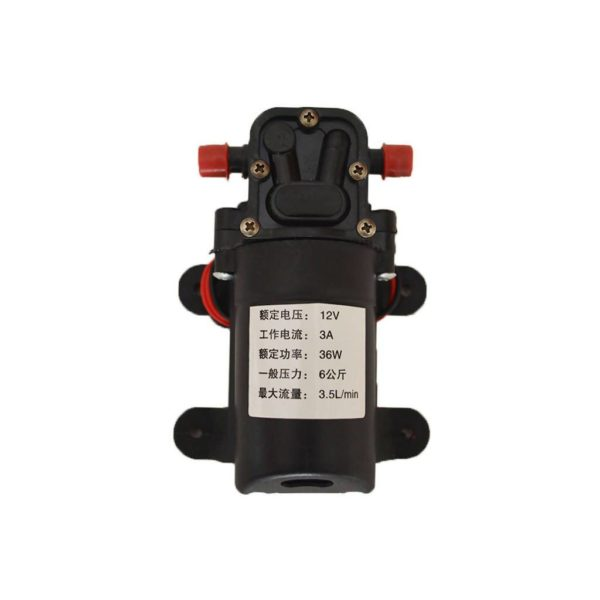 ALTIMUS Self-Priming Water Pump, 3.5L/min, 12V DC