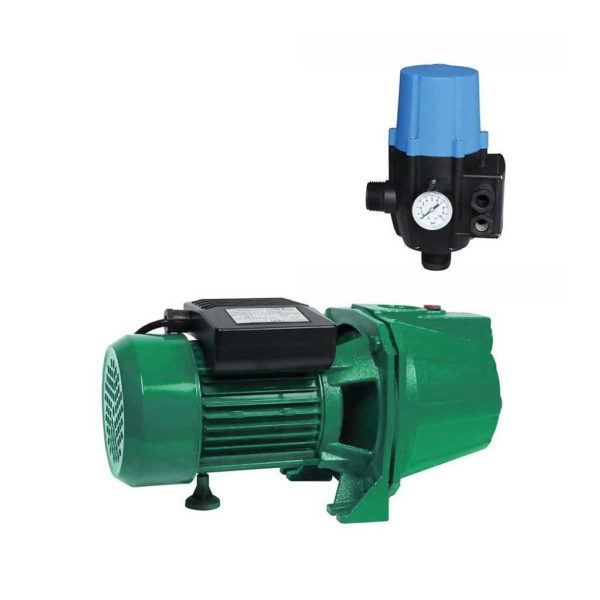 TRADEPOWER MCOP1409 Self Priming Jet Booster Pump With Automatic Pump Controller Switch (1kW, 1.35hp, 220V)